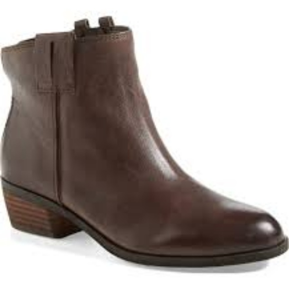 162548918 Sam Edelman James Short Brown Leather Boot. M 5ab2ad5372ea881fd124ab87